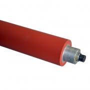 Вал нажимной обрезиненный тефлоновый для пресса Oshima OP-1000
