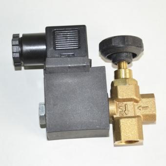 электромагнитный клапан угловой